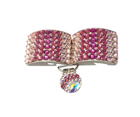 Irish Dance Shoe Buckles classic deluxe pink