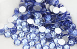 Light Sapphire Blue Non Hotfix Flat Back Rhinestones-Rhinestone HQ