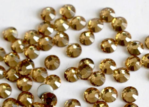 Light Topaz Non Hotfix Rhinestones