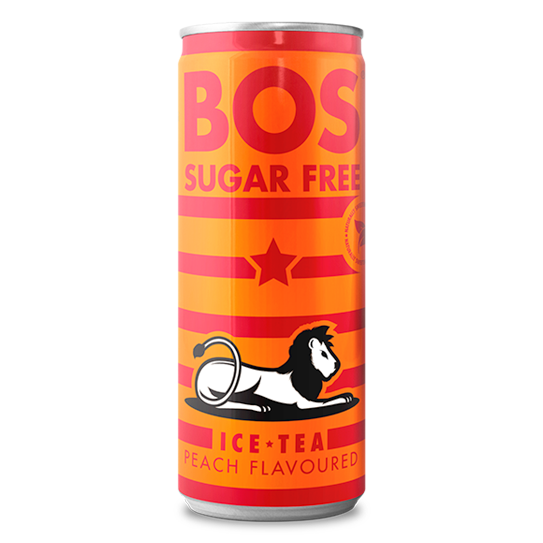 1 x case of 24 - 330ml Cans Sugar Free Peach