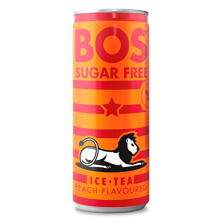 Sugar Free Peach 330ml Cans - 1 x case of 24