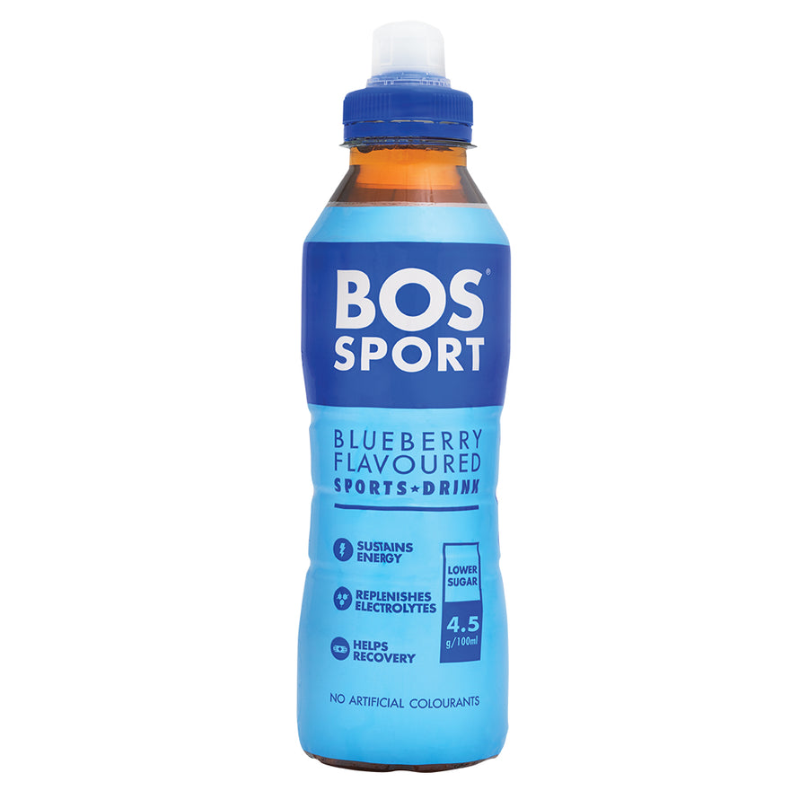 BOS Sport Blueberry 500ml - 1 x Case of 6