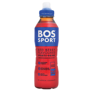 BOS Sport Red Berry 500ml - 1 x Case of 6