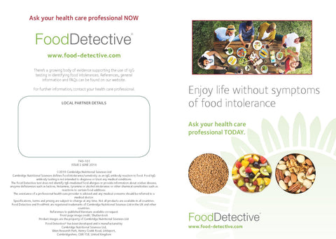 FOOD DETECTIVE BROCHURE - INDIAN SUBCONTINENT