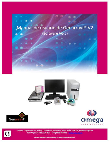 Spanish Genarrayt User Manual