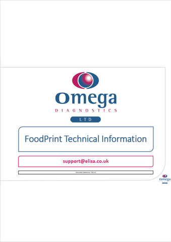 FoodPrint Technical Information