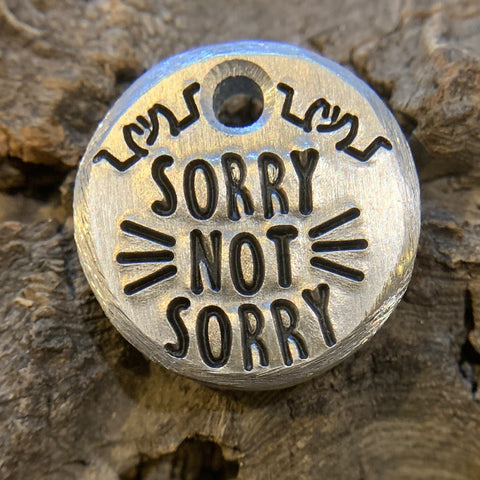 ".75"" aluminum - sorry not sorry"