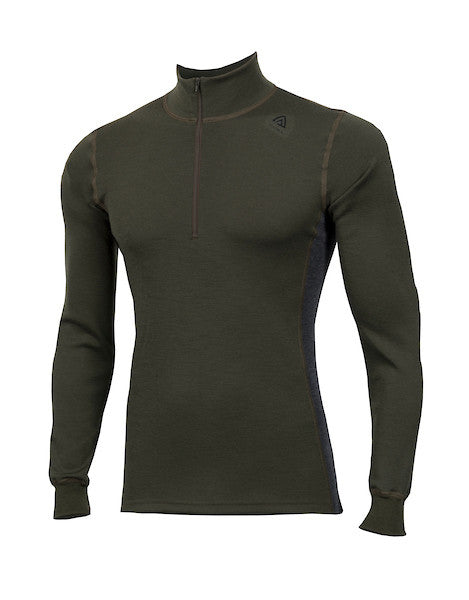 WarmWool Mock Neck, Zip (H)