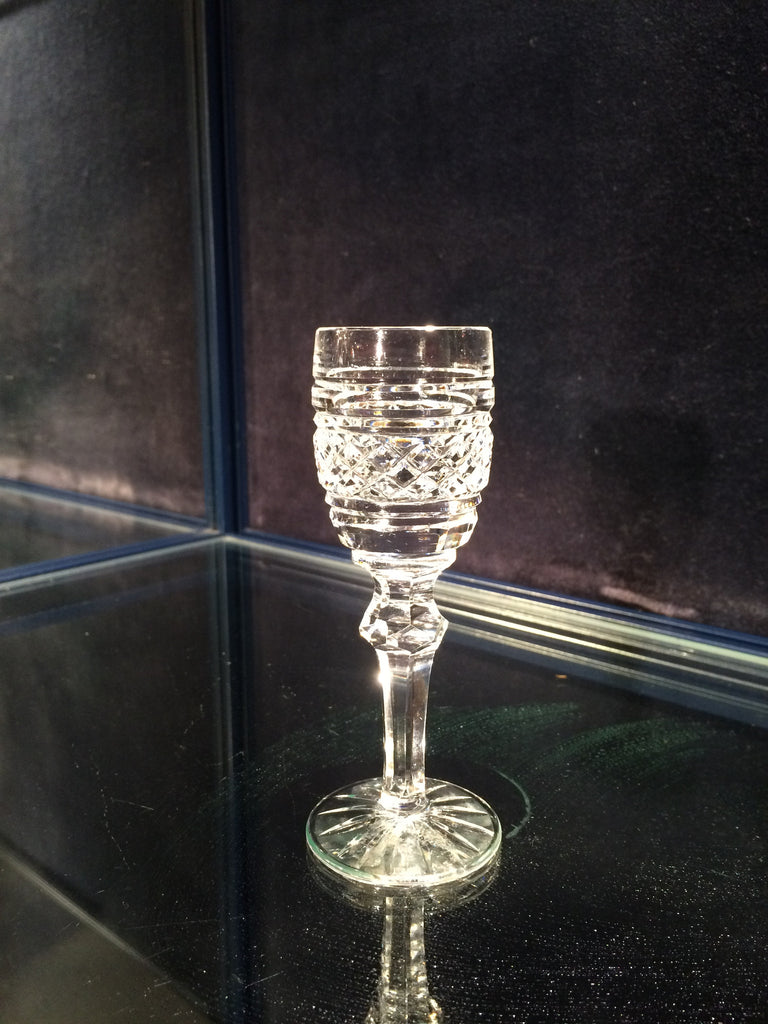 Cordial Glass Castletown Cut by Waterford Crystal