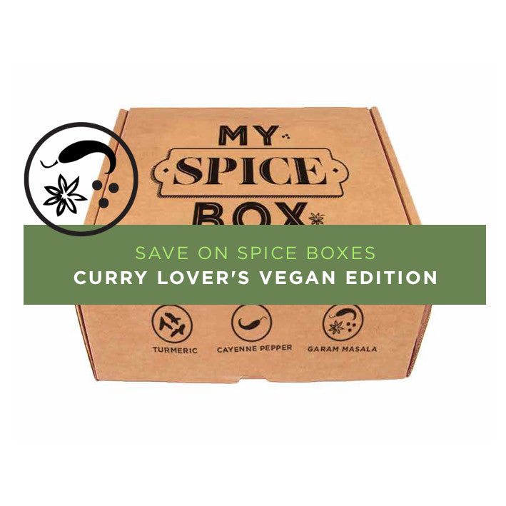 Curry Lover's Spice Box - Vegan Edition