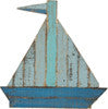 Sail Boat - Slat Sign