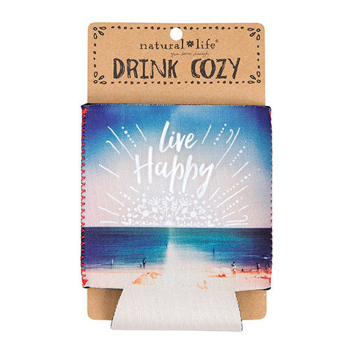 """Live Happy"" Can Cozy"