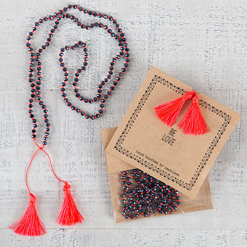 BE Love Tassel Necklace