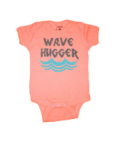 WAVE HUGGER ONE PIECE- CORAL