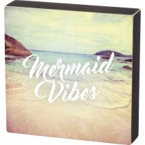 Box Sign - Mermaid Vibes