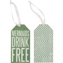 Bottle Tag -Mermaids