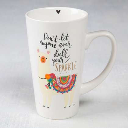 Latte mug- don't dull your sparkle