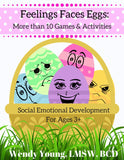 Feelings Face Eggs: More than 10 Games & Activities