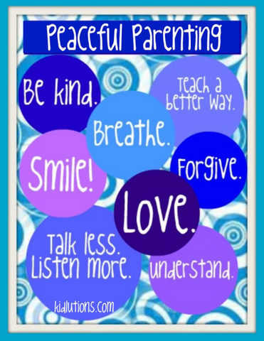 Peaceful Parenting Printables ~ FREE!