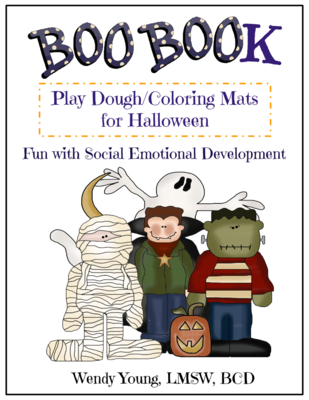 Boo Book: Play Dough Mats/Coloring Pages for Social-Emotional Development