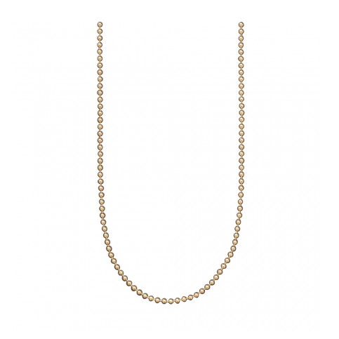 Waxing Poetic Baby Ball Chain, Gold Plated
