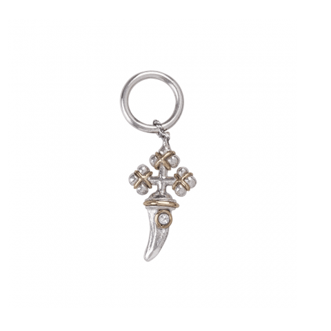 Waxing Poetic Intention Everlasting Cross Charm