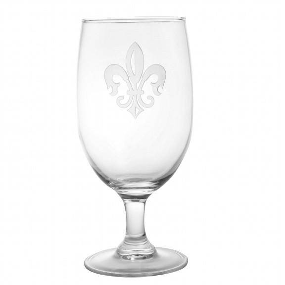 Rolf Glass Grand Fleur de Lis Iced Tea Glass