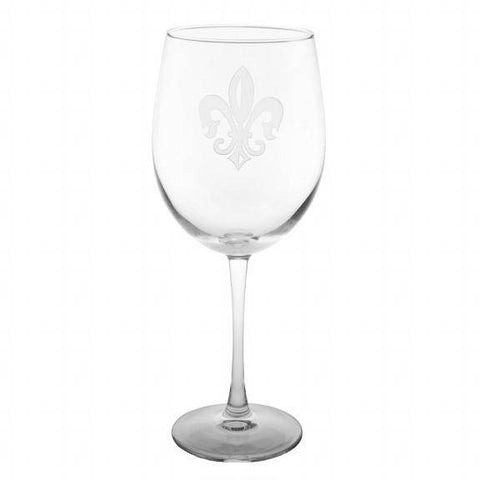Rolf Glass Grand Fleur de Lis Large Wine Glass