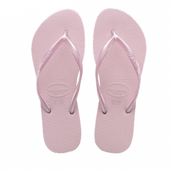 Havaianas Slim Flip Flop in Crystal Rose