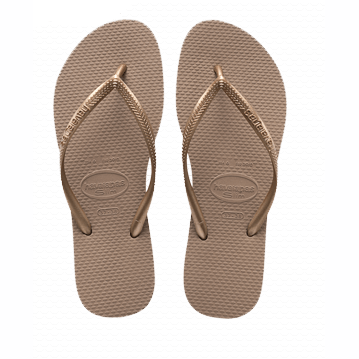 Havaianas Slim Flip Flop in Rose Gold