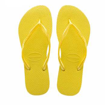 Havaianas Slim Flip Flop in Revival Yellow