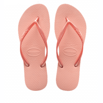 Havaianas Slim Flip Flop in Light Pink