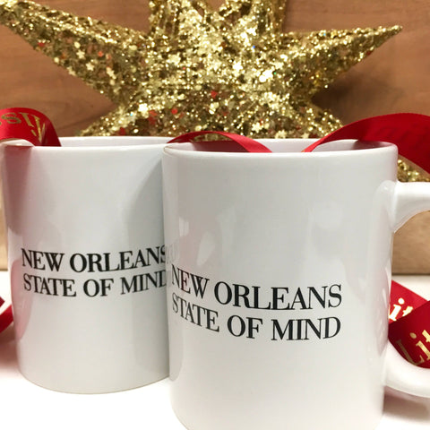 """New Orleans State of Mind"" Coffee Mug"