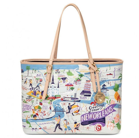 Spartina 449 Greetings From New Orleans Tote