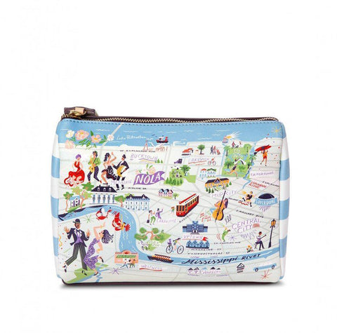 Spartina 449 Greetings From New Orleans Carry All Case
