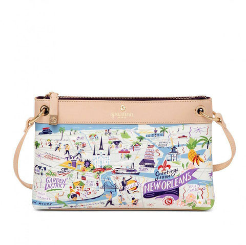Spartina 449 Greetings From New Orleans Crossbody