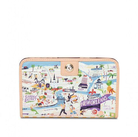 Spartina 449 Greetings From New Orleans Snap Wallet