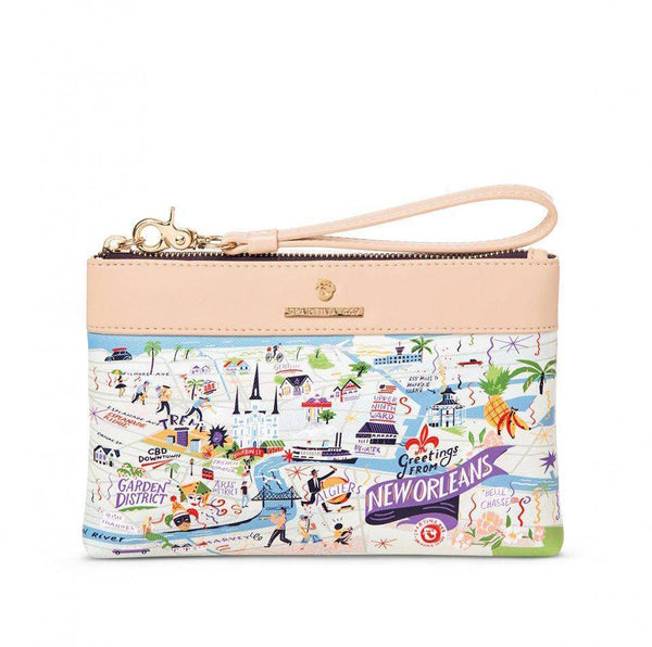 Spartina 449 Greetings From New Orleans Scout Wristlet