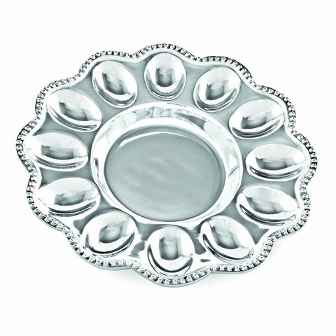 Beatriz Ball Pearl Deviled Egg Platter