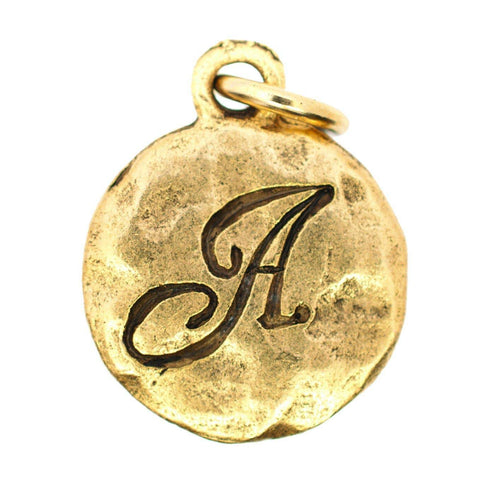 Beaucoup Designs Monogram Charm in Gold