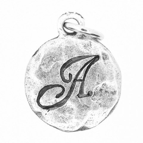 Beaucoup Designs Monogram Charm in Silver