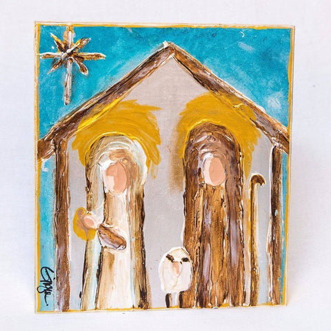 Ginger Leigh Designs Holy Family Nativity