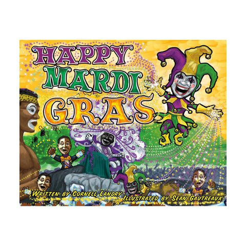 Happy Mardi Gras Book