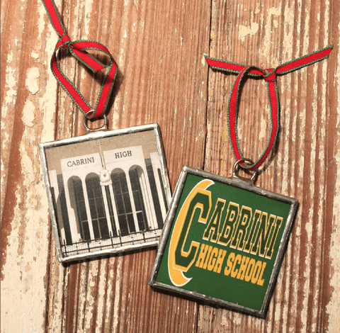 Heather Elizabeth Designs New Orleans Schools Christmas Ornaments