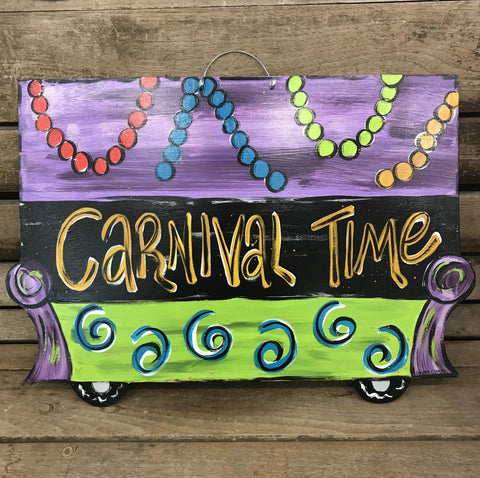 Carnival Time Float by Gabby Gumbo