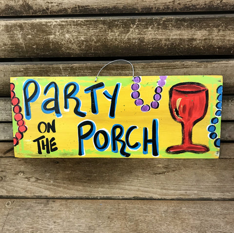 Party on the Porch by Gabby Gumbo