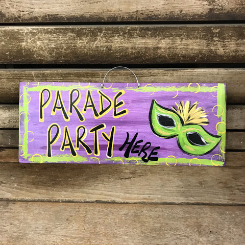 Parade Party Here by Gabby Gumbo