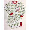 Nola Tawk Rudolph the Red Nosed Alligator Organic Cotton Pajama Set