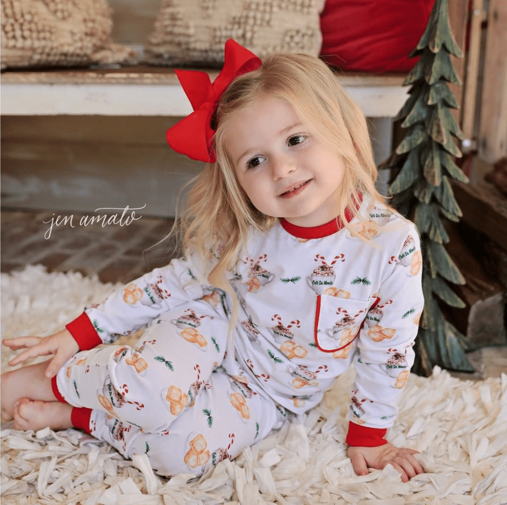 62b4d91d4272 Nola Tawk Hot Chocolate   Beignets Organic Cotton Pajama Set ...