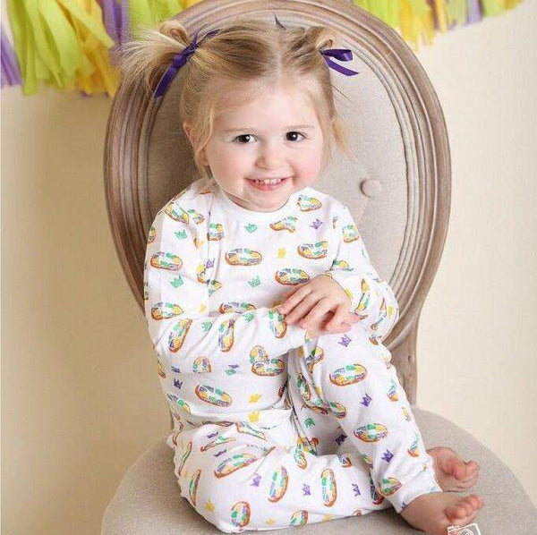 Nola Tawk King Cake Organic Cotton Pajama Set